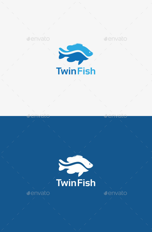 GraphicRiver Twin Fish 9706690
