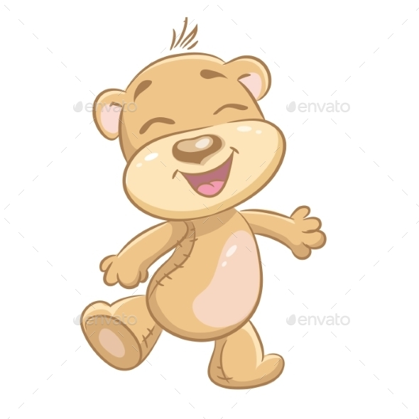GraphicRiver Merry Bear 9707013