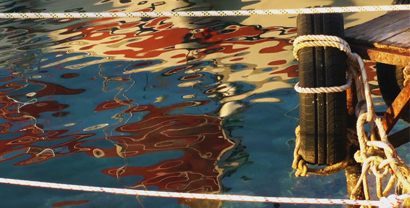 VideoHive Boat Reflection on the Water 9707455