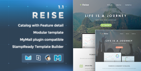Reise - Responsive Email Template