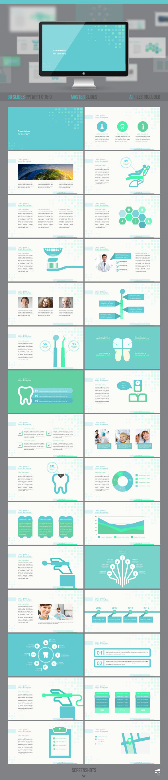 GraphicRiver Dental Presentation 9709360