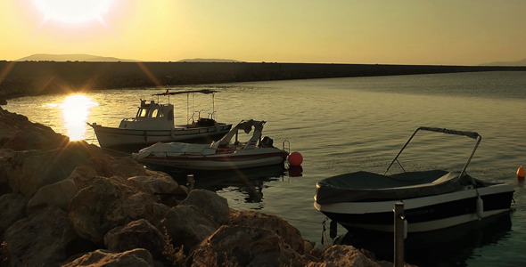 VideoHive Boats and the Sunset 9709500