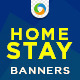 Home Stay Banners - GraphicRiver Item for Sale