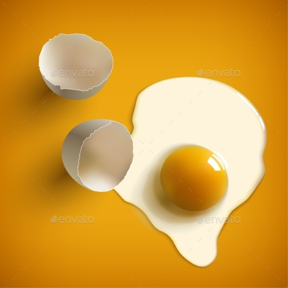 GraphicRiver Cracked Raw Egg 9709830
