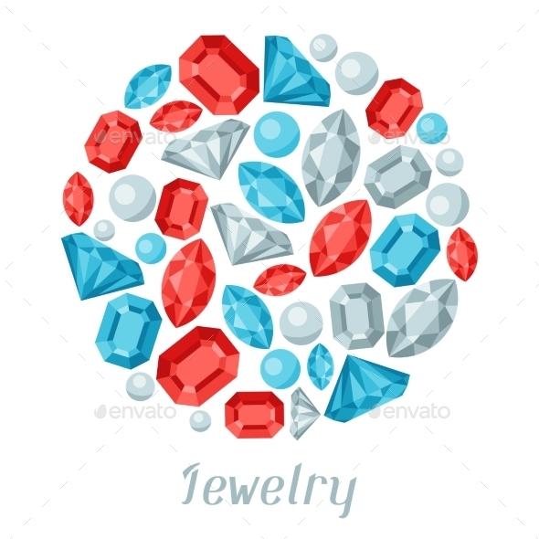 GraphicRiver Jewelry Precious Stones 9709866