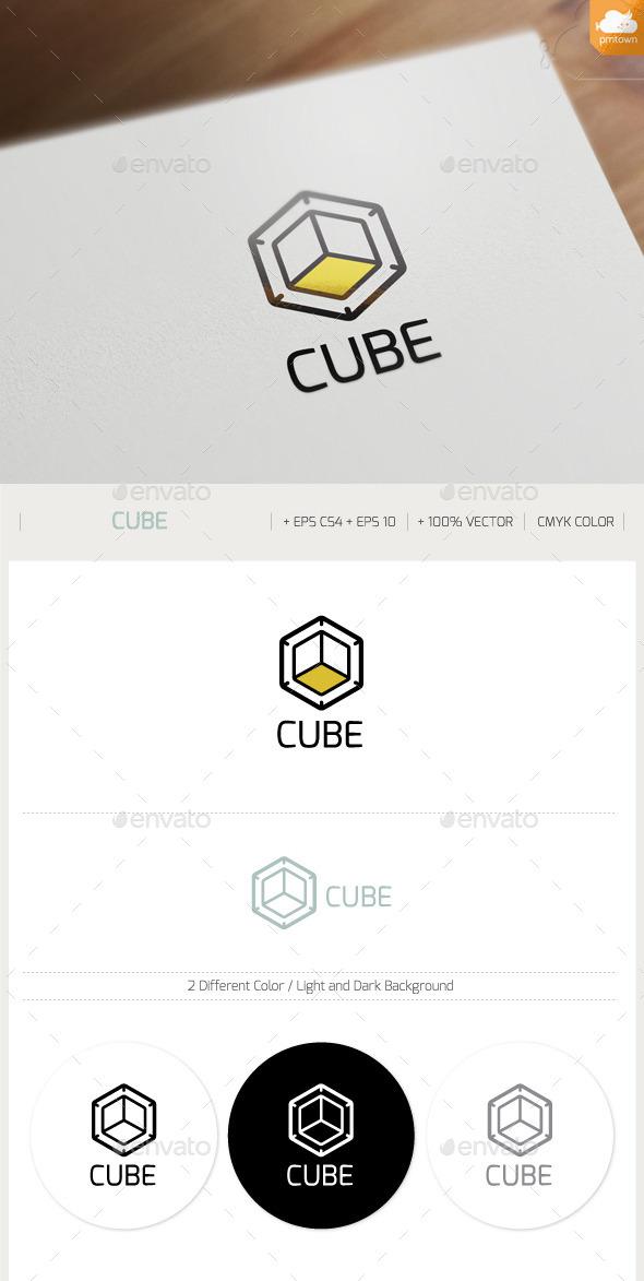 GraphicRiver Cube logo 9710135