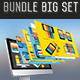 4 in 1 Bundle mobile of info graphic[Update] - GraphicRiver Item for Sale