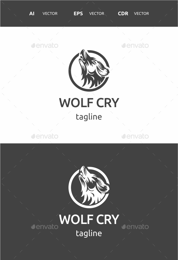 GraphicRiver Wolf Cry 9710407