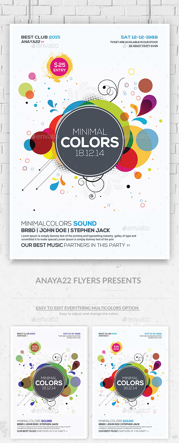 GraphicRiver Abstract Future Flyer Psd Template 9710520