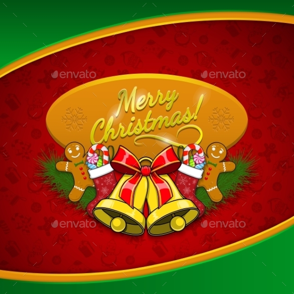 GraphicRiver Christmas Holiday Background 9710598
