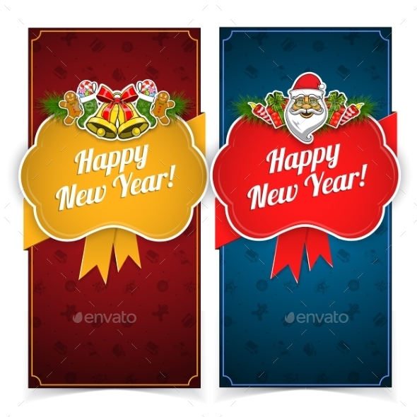 GraphicRiver New Year Banners 9710636
