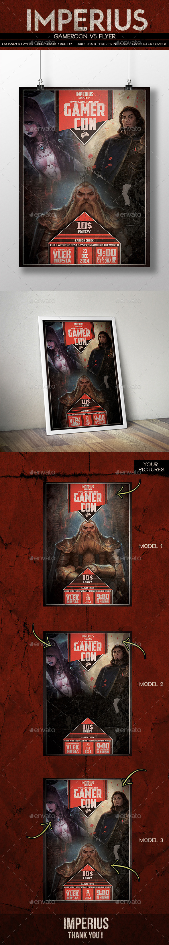 GraphicRiver GamerCon V5 9710655