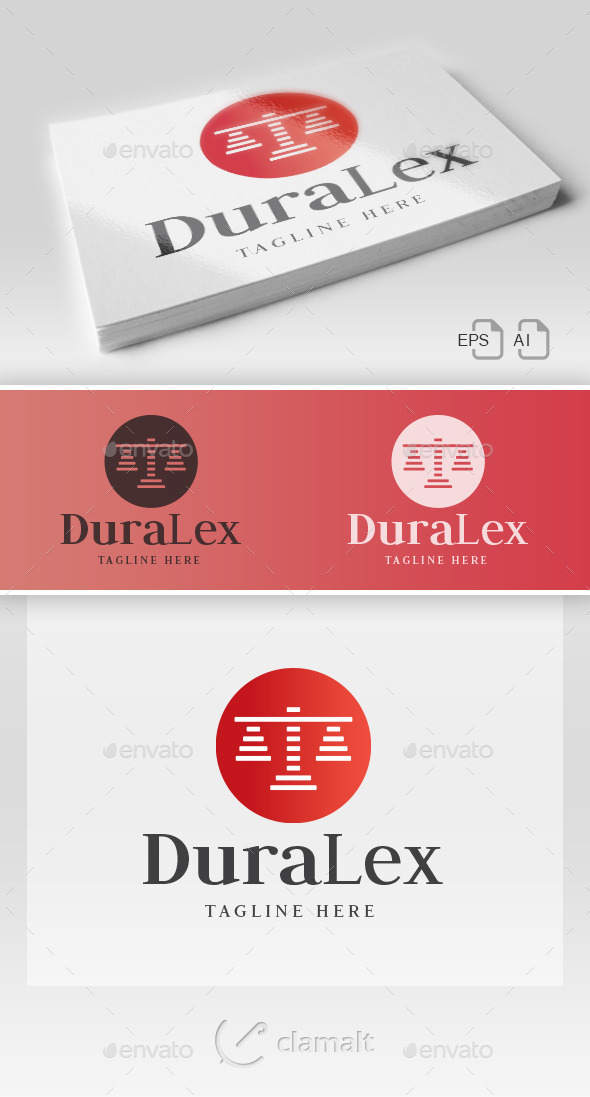 GraphicRiver DuraLex Logo 9710780