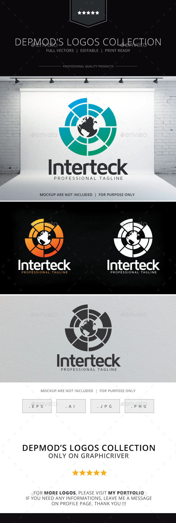 GraphicRiver Interteck Logo 9711418