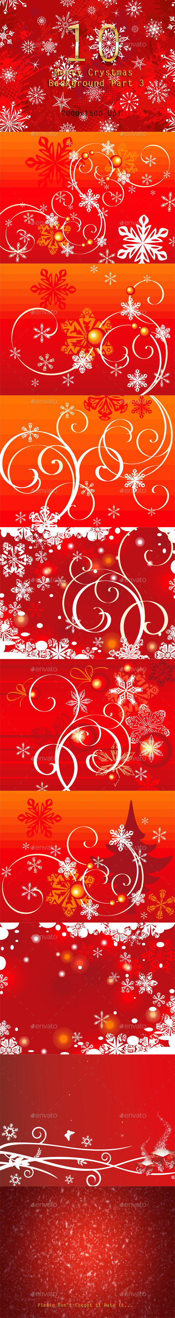 GraphicRiver 10 Merry Crystmas Background Part 3 9711528