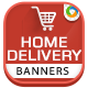 Delivery & Courior Banners  - GraphicRiver Item for Sale