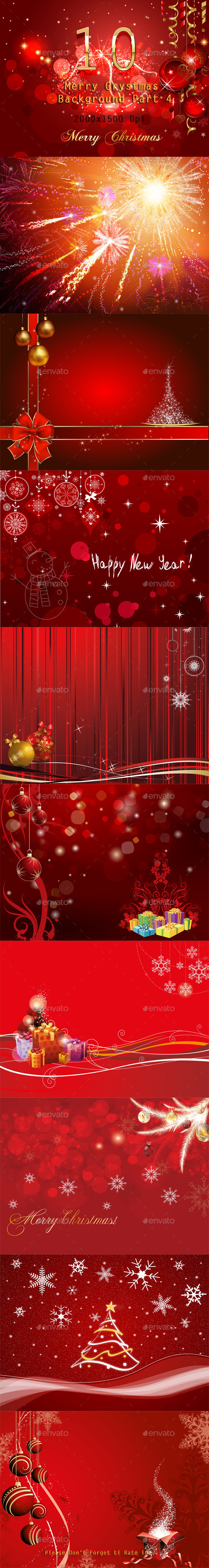 GraphicRiver 10 Merry Crystmas Background Part 4 9711544