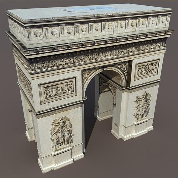 3DOcean Arc de Triomphe 9711599