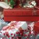 Woman Hand Putting Gift Box - 3
