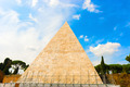 The Pyramid of Cestius in Rome, Italy - PhotoDune Item for Sale