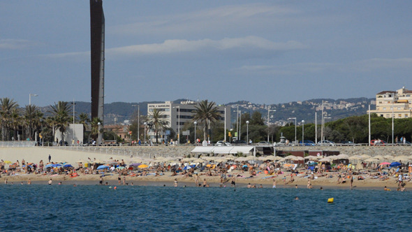 The Beach In Barcelona 4