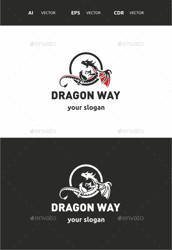 GraphicRiver Dragon way 9711874