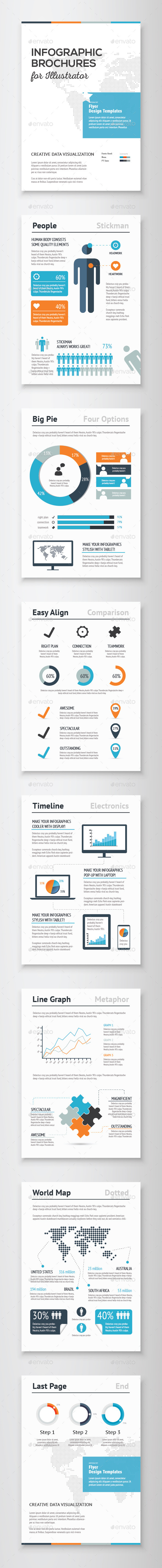 GraphicRiver Infographic Brochure Vector Elements Kit 1 9712014