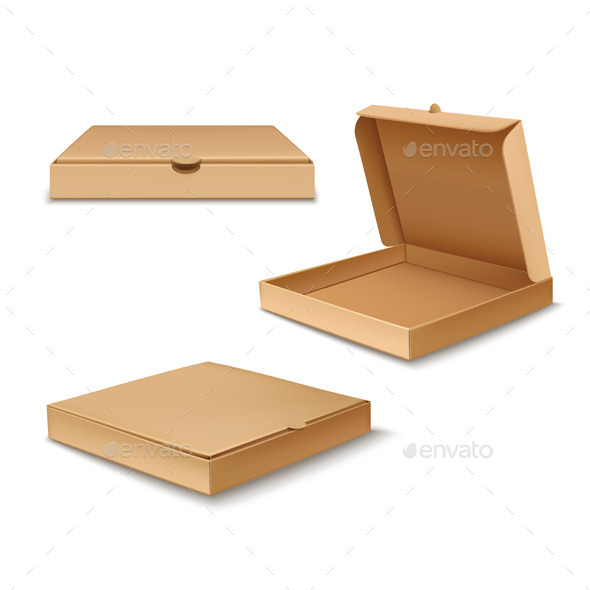 GraphicRiver Pizza Boxes 9712122