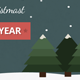 Flat Christmas Facebook Timeline Cover