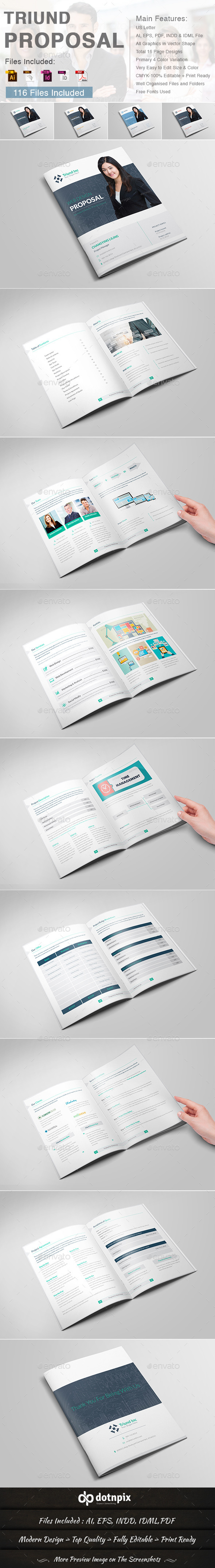GraphicRiver Triund Proposal 9713121