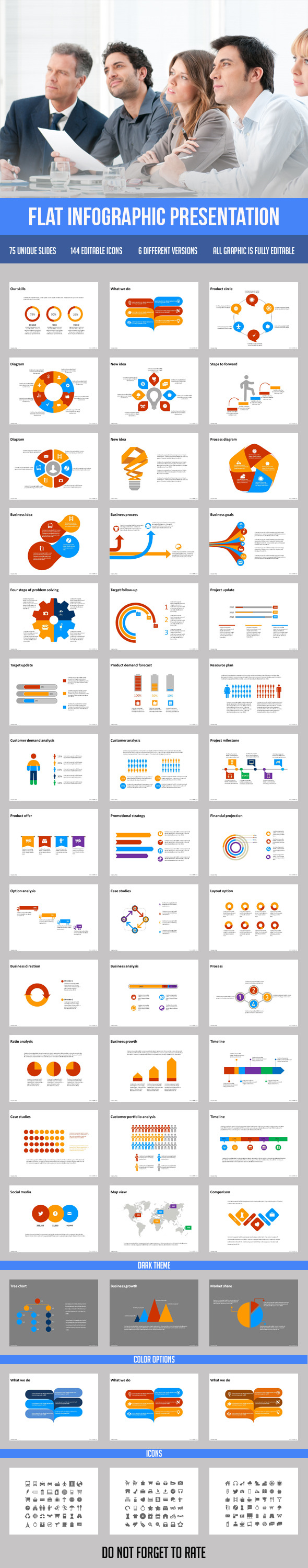 GraphicRiver Flat Infographic Presentation 9713127