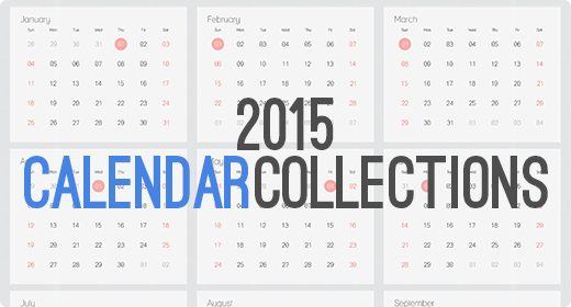 2015 Calendar Collection