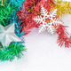 Christmas decoration with silver star  - PhotoDune Item for Sale