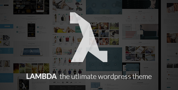 ThemeForest Lambda Multi Purpose Responsive Bootstrap Theme 9693644