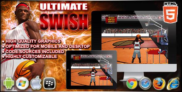 CodeCanyon Ultimate Swish Sport HTML5 Game 9713521