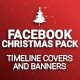 Facebook Christmas Pack - GraphicRiver Item for Sale