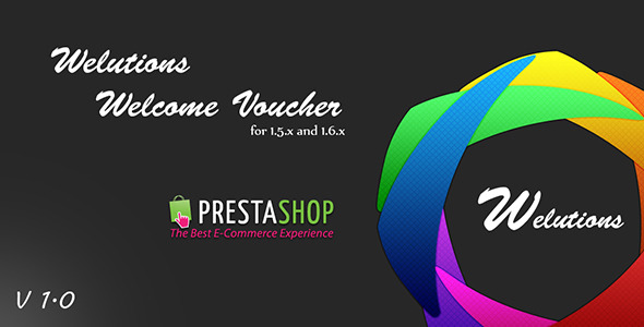 CodeCanyon Welutions Welcome Voucher for PrestaShop 9713828