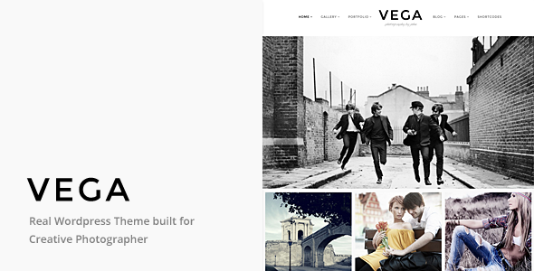 ThemeForest Vega Portfolio Gallery Theme for Photographer 9678282