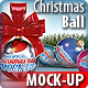 Christmas Balls Mock-Up - GraphicRiver Item for Sale