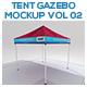 Tent Gazebo Mockup Vol 02 - GraphicRiver Item for Sale