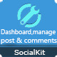 Dashboard - Manage Post & Comments for socialkit - CodeCanyon Item for Sale