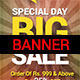 Multipurpose Sale Banner - GraphicRiver Item for Sale