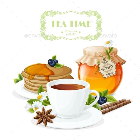 Tea Time Poster