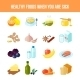 Healthy Food Icon Flat - GraphicRiver Item for Sale