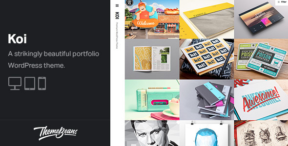 Koi - Responsive Portfolio WordPress Theme