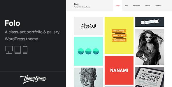 Folo - Premium Responsive Portfolio Theme - Portfolio Creative