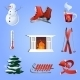 Winter Icons Set - GraphicRiver Item for Sale