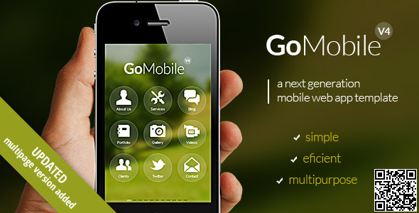 Go Mobile - theme preview screenshot