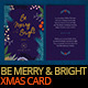 Be Merry - Christmas Greeting Card - GraphicRiver Item for Sale