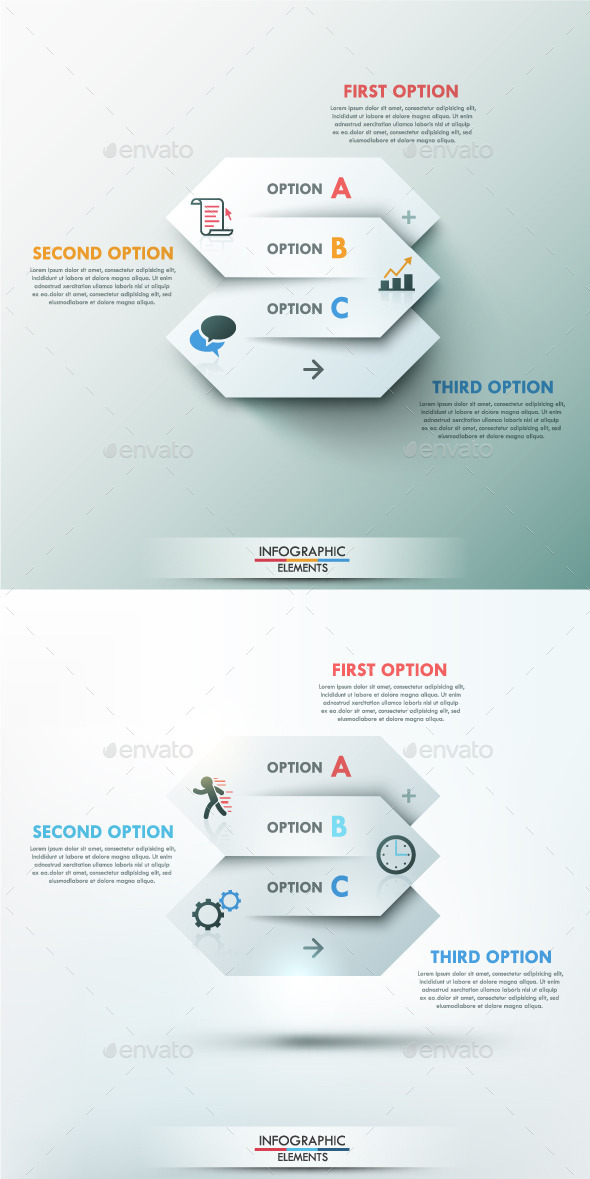 GraphicRiver Modern Infographic Options Banner 2 Items 9714928